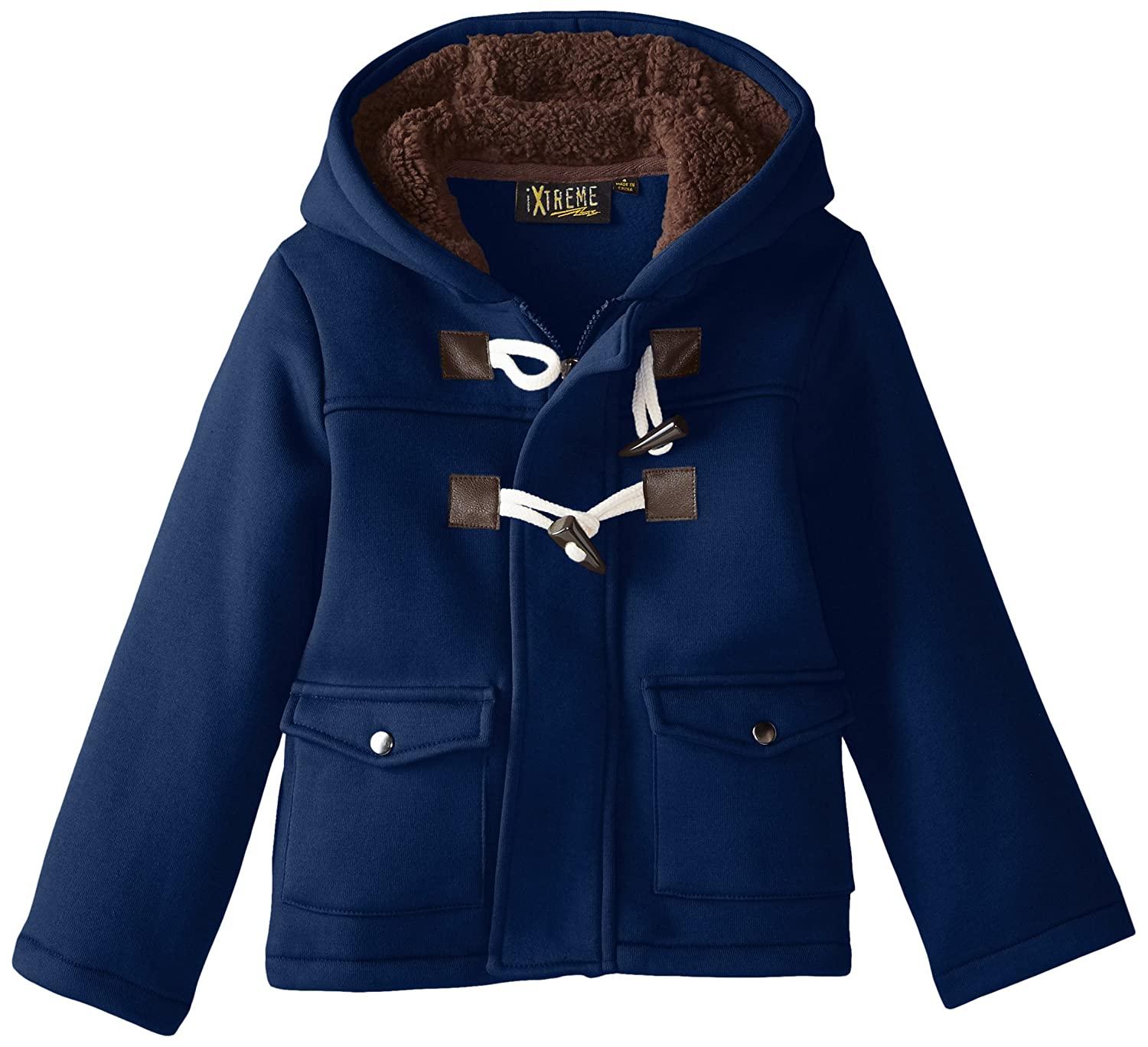 iXtreme Boys' Toggle Fleece Coat IX82111