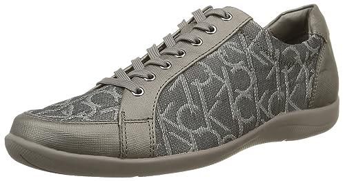76971846f5ab8f Calvin KleinTammy CK Logo 3D - Sneaker Donna, Grigio (Gris (Pew ...