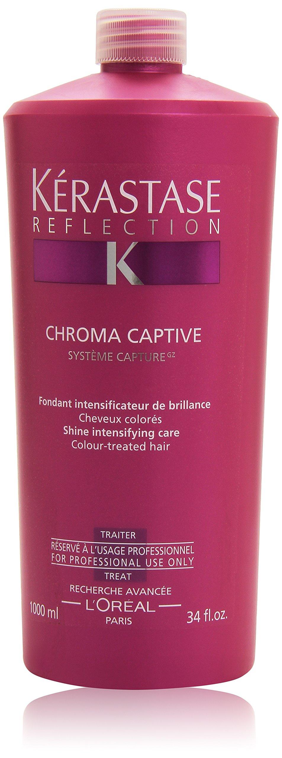 Kerastase Reflection Chroma Captive Treatment, Shine Intensifying Care, 34 Ounce