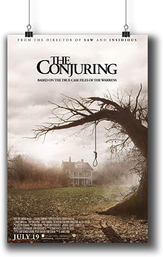 Amazon Com The Conjuring 2013 Movie Poster Small Prints 1019 001 Wall Art Decor For Dorm Bedroom Living Room A4 8x12inch 21x29cm Posters Prints