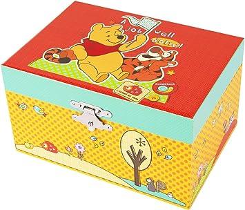 Trousselier Caja de música S50100 - Disney Motivo de Winnie The Pooh Serie compacta (Cajas de música, Cajas de música, Relojes Musicales), el Regalo Ideal: Amazon.es: Juguetes y juegos