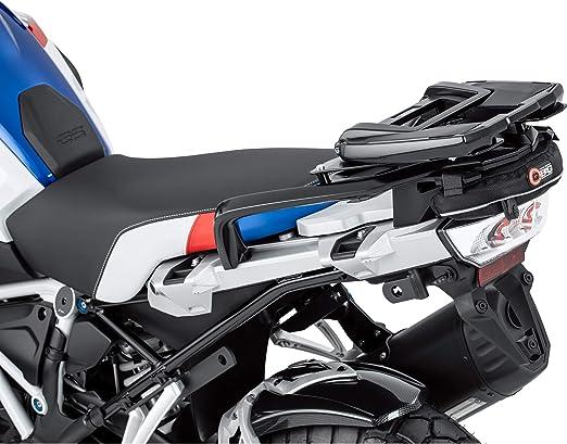 Qbag Hecktasche Motorrad Motorradtasche Gepäckträgertasche Für Bmw R 1200 Gs Lc 2013 Wasserabweisend Reflektierende Keder Gepolsterte Unterseite Schwarz 1 2 Liter Auto