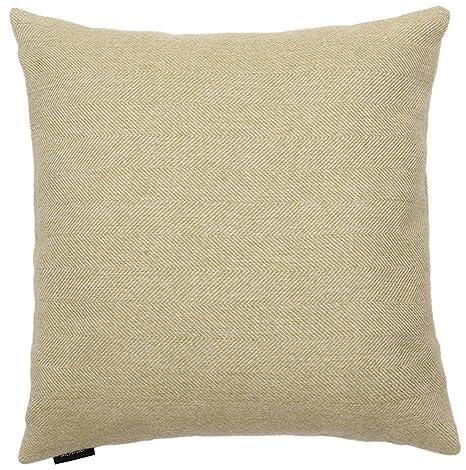 McAlister Textiles Fundas de cojín con espigas, algodón poliéster, Sage Green, 50 cm x 30 cm