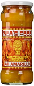 Inca's Food Aji Amarillo Enteros en Salmuera (Yellow Hot Pepper Whole in Brine) - Product of Peru