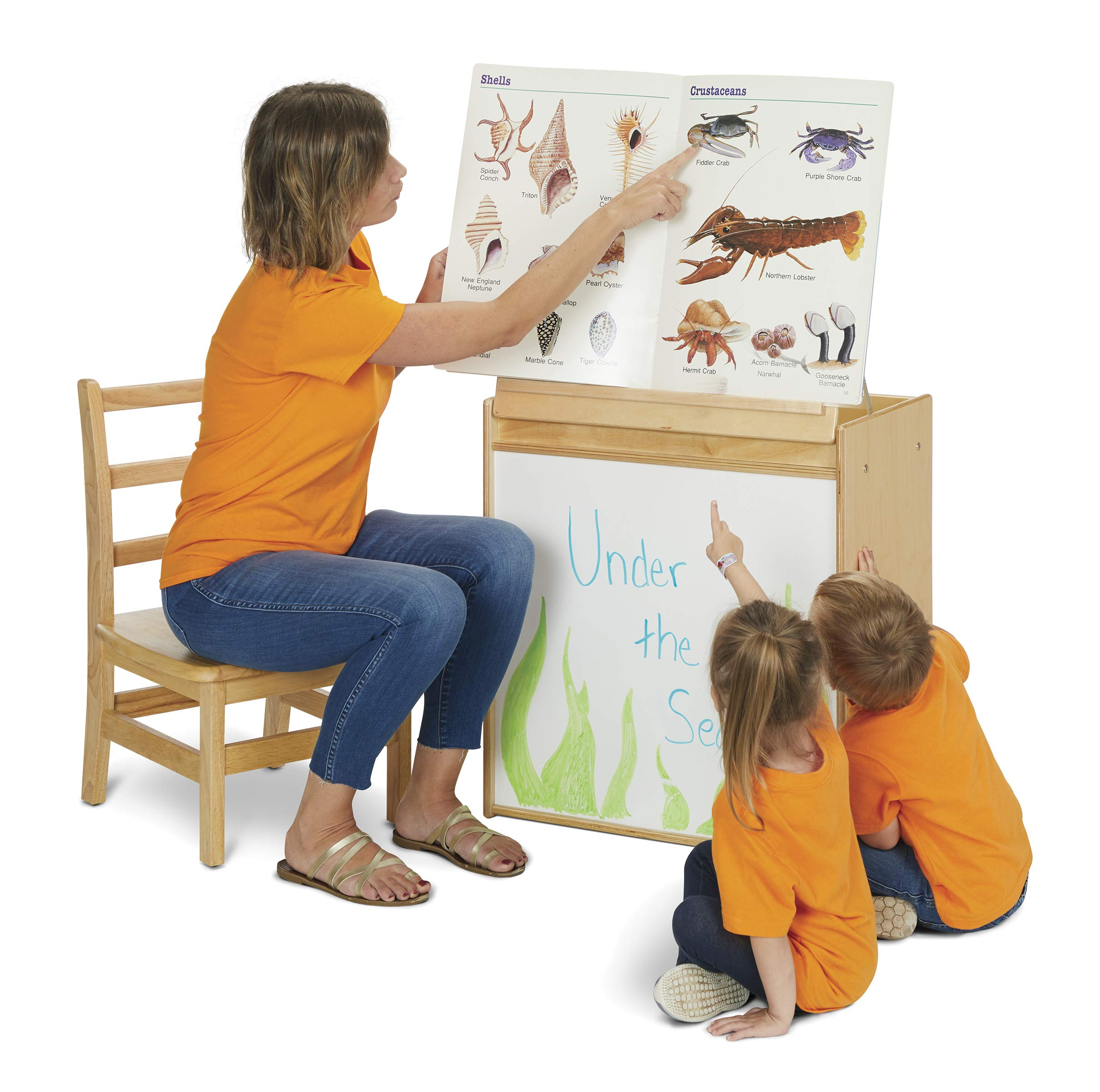 Young Time 7094YT Big Book Easel by YoungTime