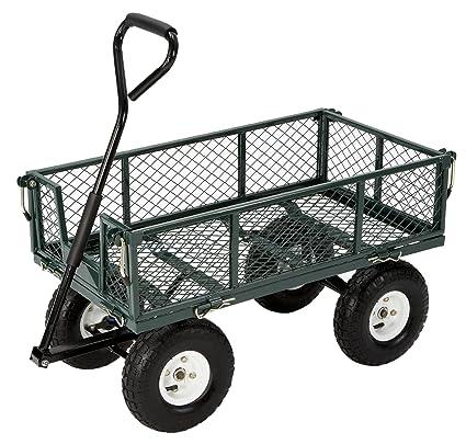 Farm U0026 Ranch FR110 2 Steel Utility Garden Cart With Folding Sides, 400