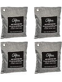 Bamboo Charcoal Air Purifying Bag , 200g Natural Air Freshener Bags, Activated Charcoal Odor Eliminators, Car Air...