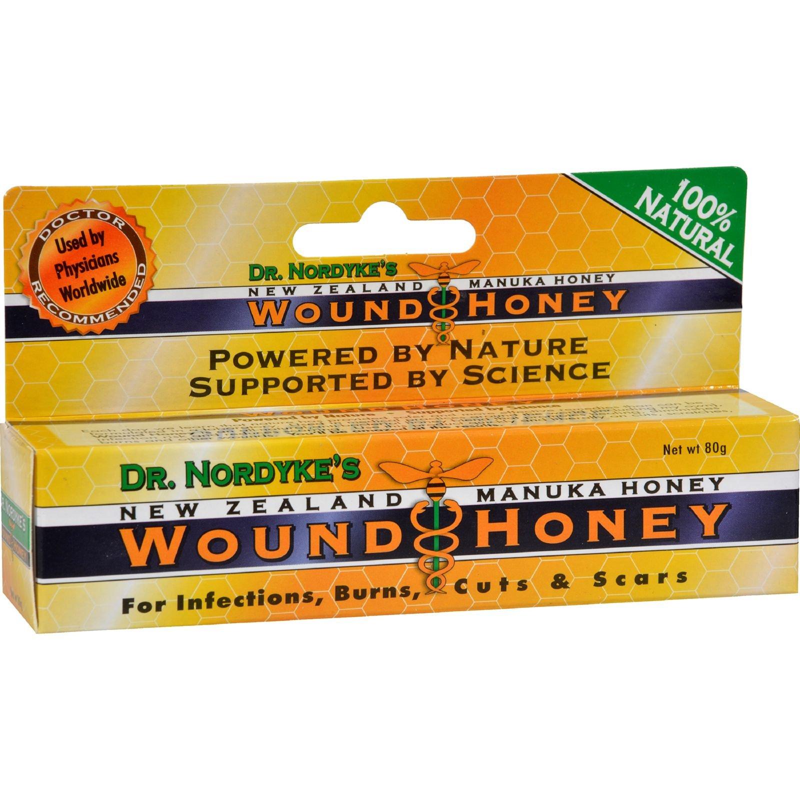Wound Honey, Manuka Honey Wound Cream with Active Manuka Honey (1 Color, 2 Pack) by Eras Natural Sciences