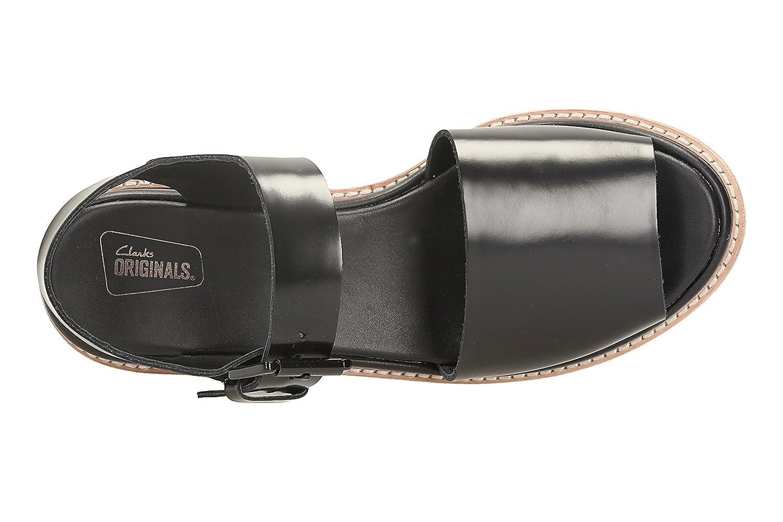 Clarks Madlen Sandal, Damen Sandalen Schwarz schwarz: Amazon
