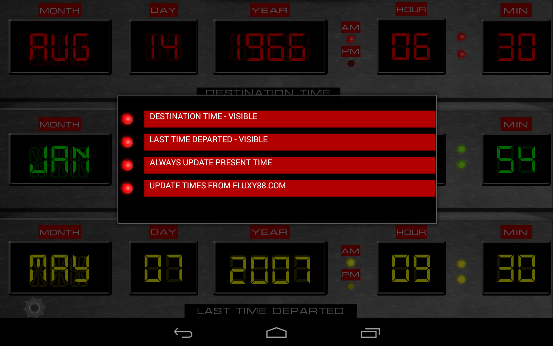 Time Circuits Dashboard Clock Import It All Images