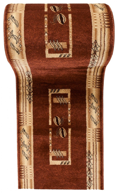 WE LOVE RUGS CARPETO Läufer Teppich Teppich Teppich Flur - Dicht Gewebt Teppichläufer - Läufer nach Maß -KIRTAN Kollektion - Weinrot Beige - 80 x 600 cm B079CJSL8R Lufer 64b62f