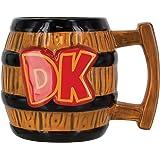 Super Mario PP4008NN Donkey Kong Shaped Mug, Ceramic, Multi-Colour, 9 x 15 x 10 cm