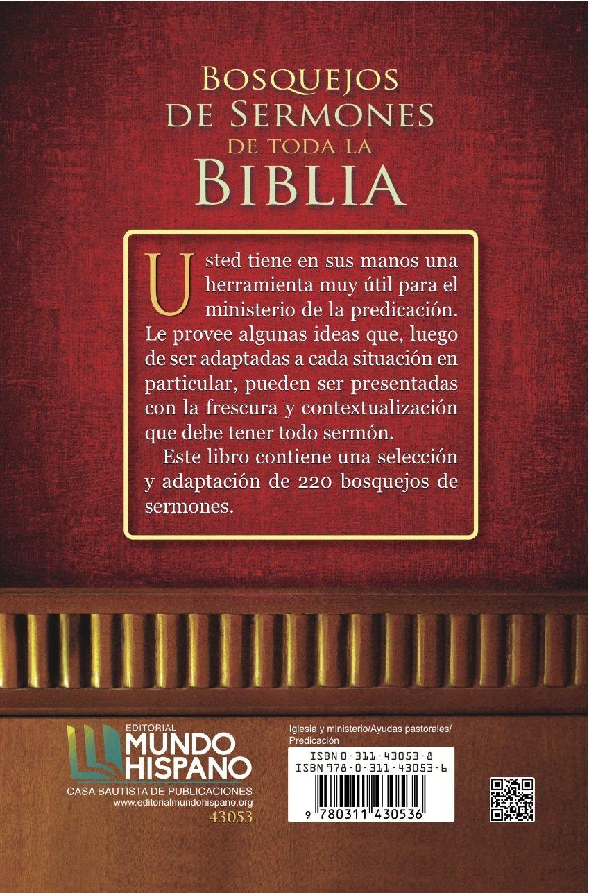 Bosquejos de Sermones de Toda la Biblia (Spanish Edition): Heriberto  Guerrero: 9780311430536: Amazon.com: Books