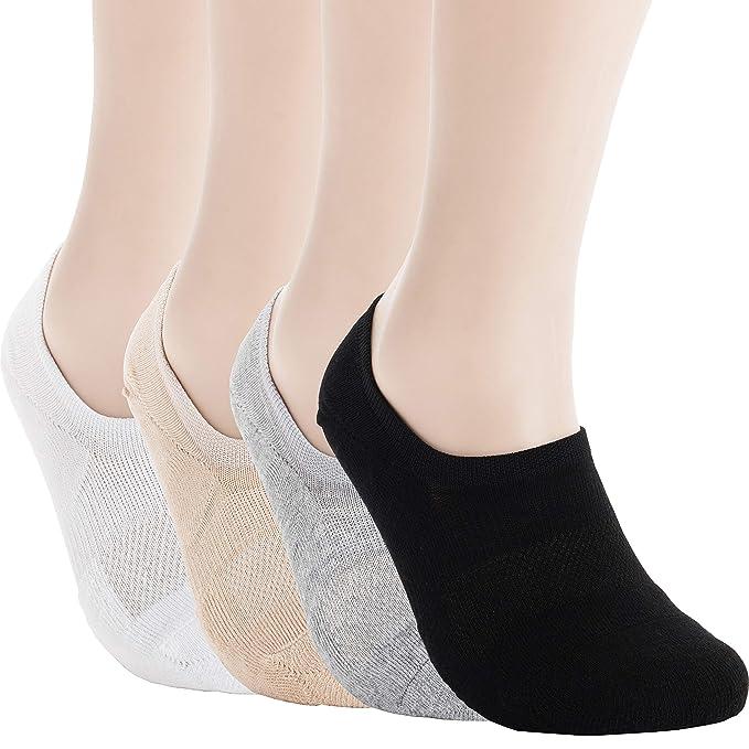 Pro cojín de montaña no show - Soporte de Athletic algodón Footies Zapatillas Calcetines deportivos: Amazon.es: Ropa y accesorios