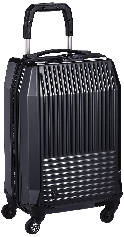 [プロテカ] スーツケース 日本製 フリーウォーカーD 3年保証付 サイレントキャスター 機内持込可 31L 49cm 3.0kg 02731 B06WGR4Q31 ブラック ブラック