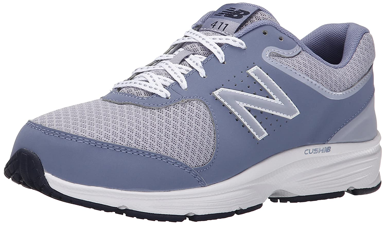 New Balance Women's WW411v2 Walking Shoe B00V3QS7Y6 5 D US|Grey