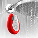 Owlee Clawsome Wireless Bluetooth Shower Speaker - Waterproof IPX4-Rated - 3W - Powerful Bass - Handsfree Calling - 6+ Hours - Gripclaw Hook Mount - for iPhone, iPad, Samsung, Nexus, HTC and more