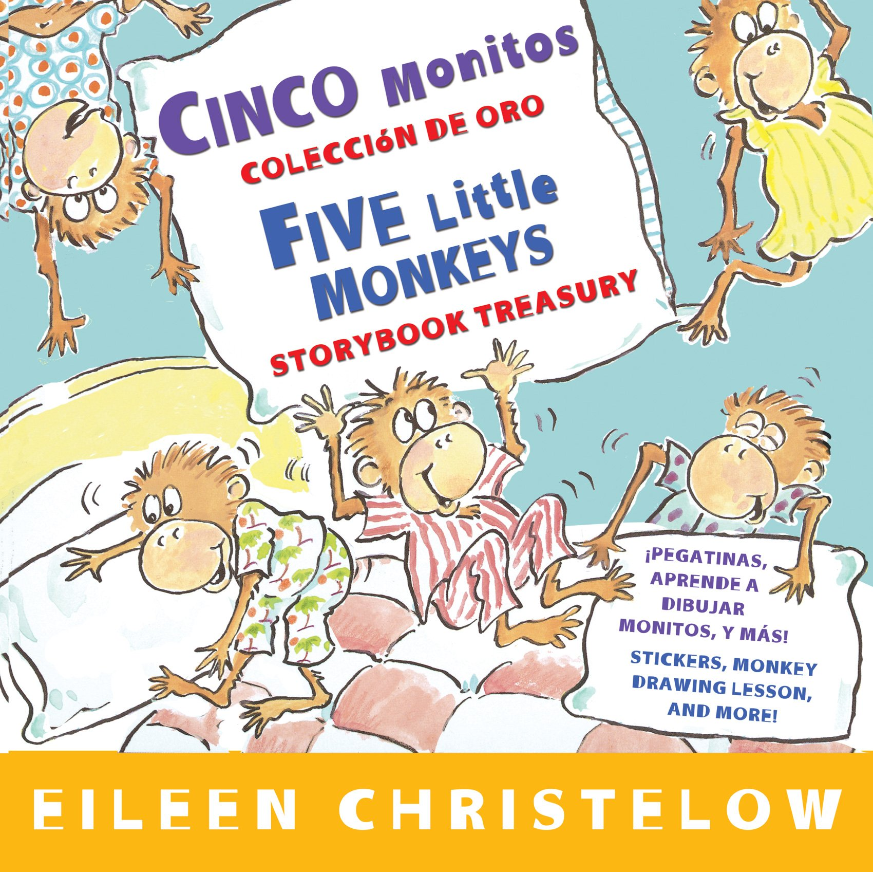 Download Cinco monitos Coleccion de oro/Five Little Monkeys Storybook Treasury (A Five Little Monkeys Story) (English and Spanish Edition) ebook