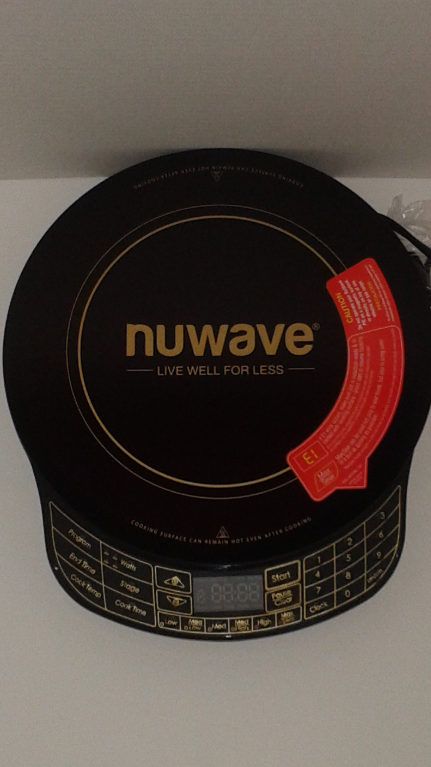 NuWave Platinum 30401 Precision Induction Cooktop, Black with Remote and Advanced Features for 2017 by NuWave (Image #8)