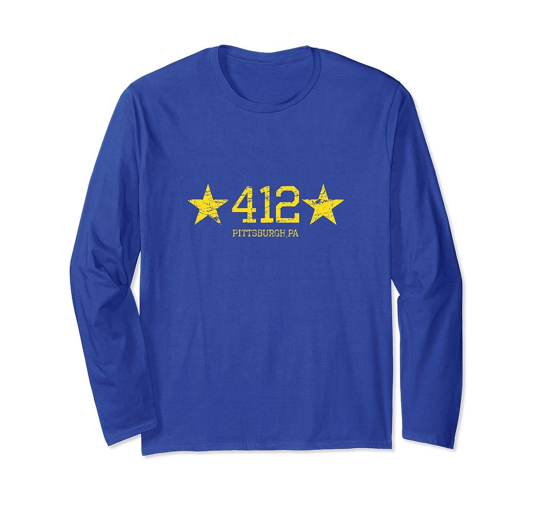 412 Pittsburgh, PA| Pittsburgh Long Sleeve T Shirts-alottee gift