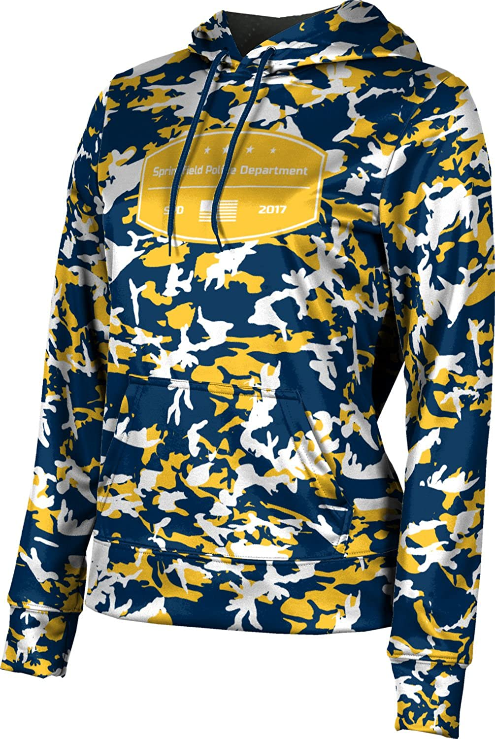 ProSphere Women's Springfield Police Department Camo Pullover Hoodie