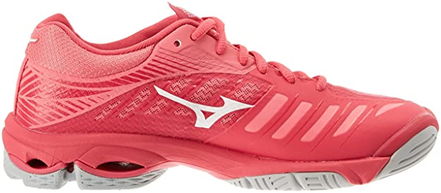 Amazon.com | Mizuno Womens Wave Lightning Z4 Low-Top Sneakers Pink | Fashion Sneakers