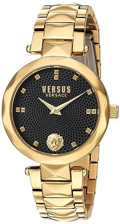Amazon.com  Versus by Versace Women s Covent Garden Quartz Watch ... 0ed2dba7408ff