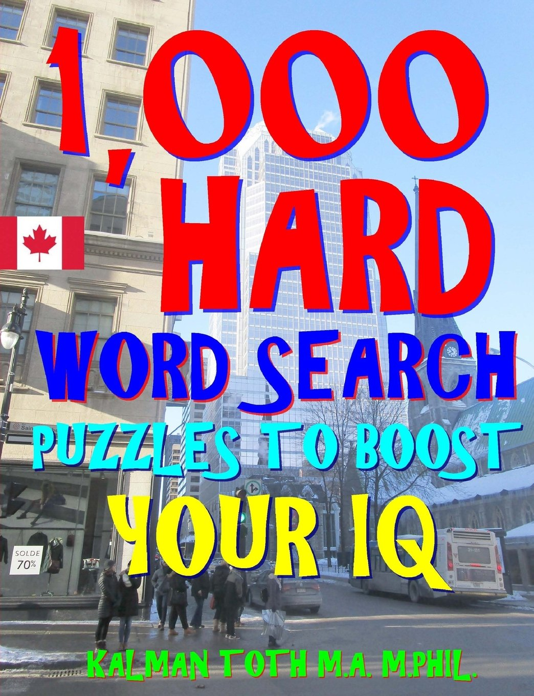 Download 1,000 Hard Word Search Puzzles to Boost Your IQ: Fun Way to Improve Brain & Memory PDF