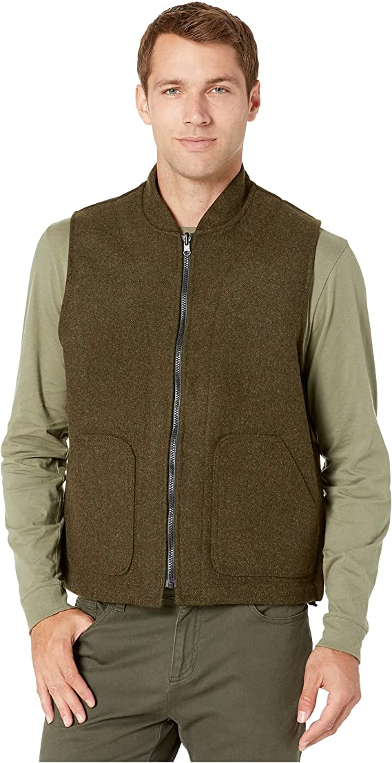 Packer Series Style 21 $175 NEW Filson Men/'s Green Wool Vest Liner Sz 50
