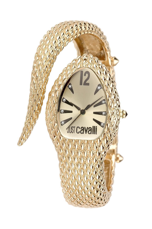 Just Cavalli Damen-Armbanduhr Analog Quarz Edelstahl R7253153517