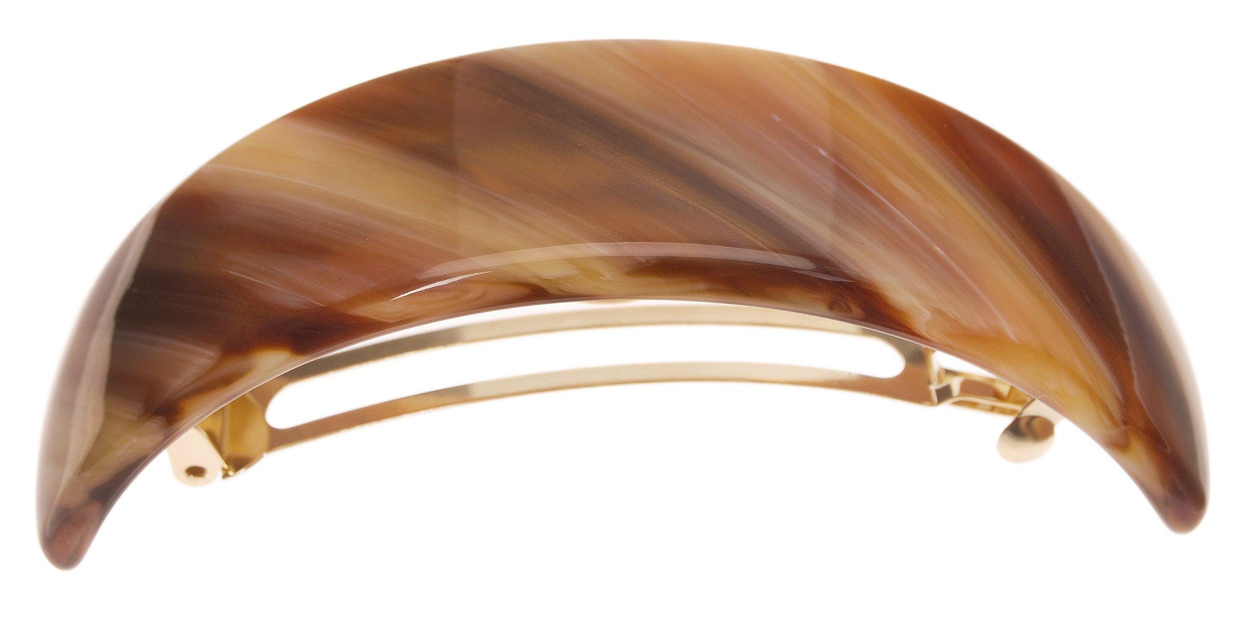France Luxe Extra Volume Barrette - Caramel Horn