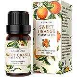 ASAKUKI Sweet Orange Essential Oil 10ml, 100% Pure Natural Essential Oils, Organic Aroma Essential Oil, Scented Oils for…