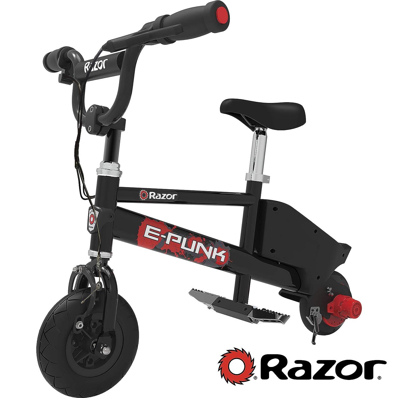 Razor E-Punk Mirco - Bicicleta eléctrica, Color Negro: Amazon.es ...
