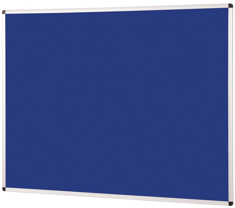 Metroplan Aluminium Framed Noticeboard 1200mm x 1500mm Blue