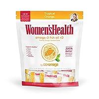 Coromega Women's Health Omega 3 Fish Oil Supplement, 650mg of Omega-3s with 3X Better...