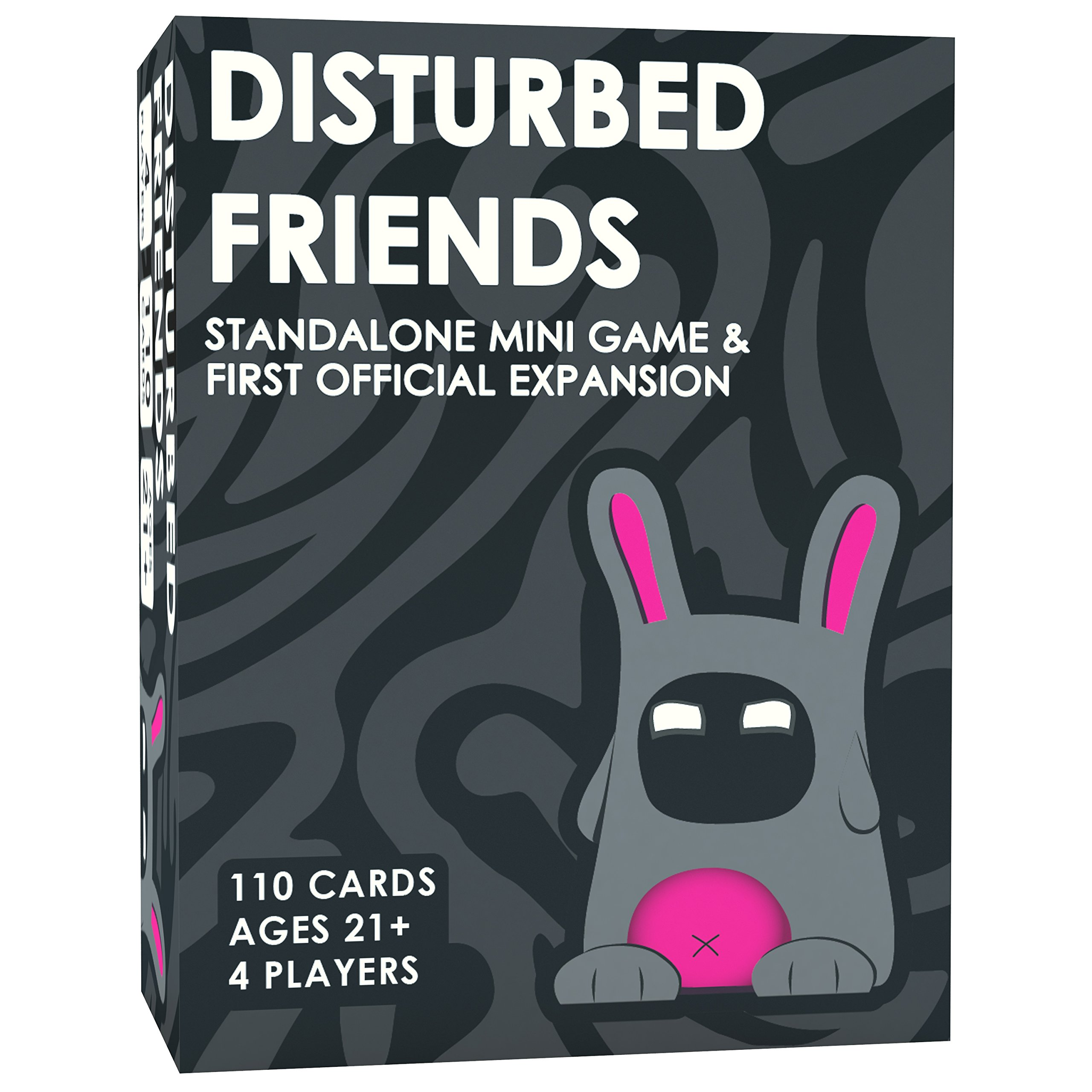 Disturbed Friends - First Expansion / Mini Game (All New Cards!) by Friendly Rabbit