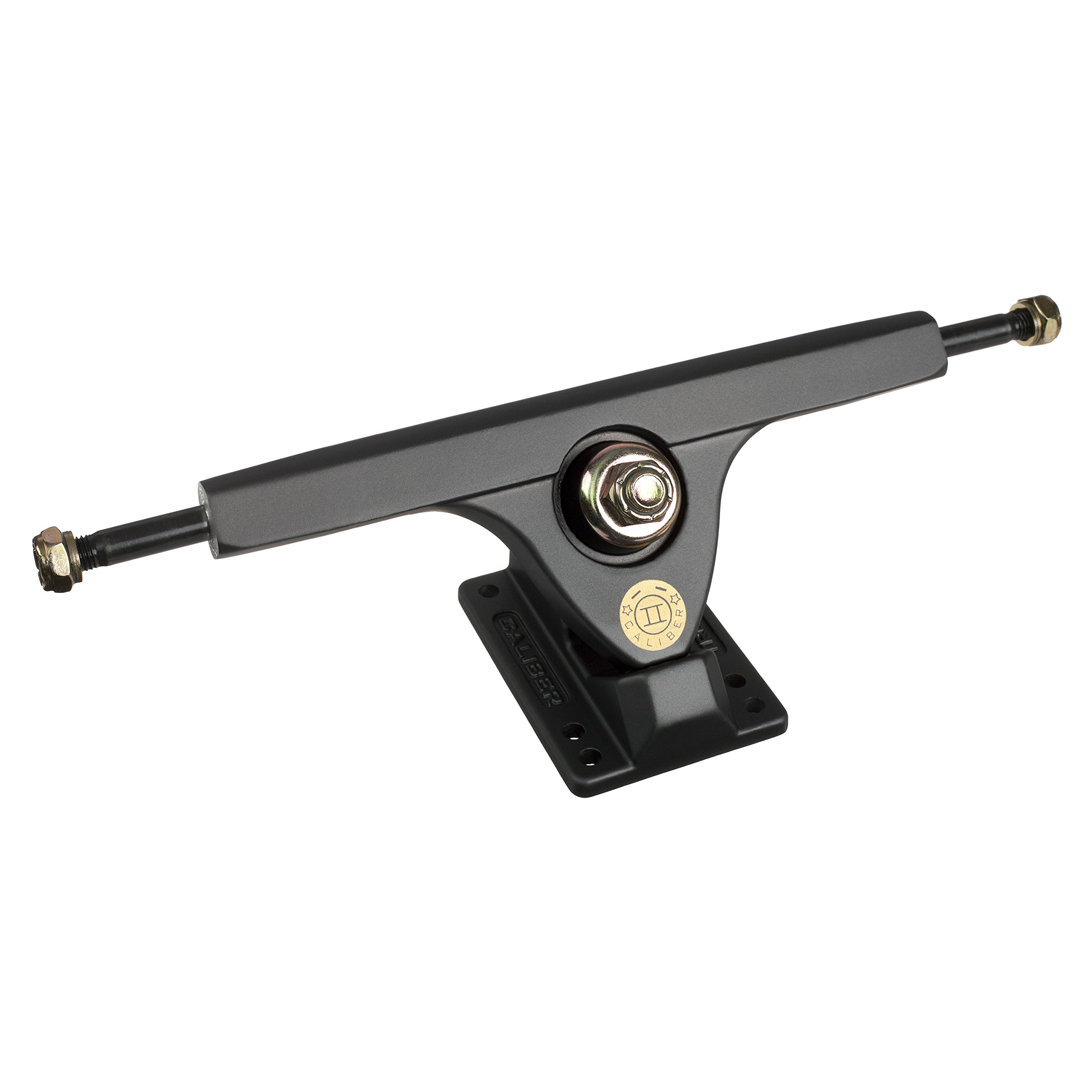 Caliber Trucks Cal II 50° RKP Longboard Trucks - set of two (Satin Smoke, w/o Bearings) by Caliber Truck Co.