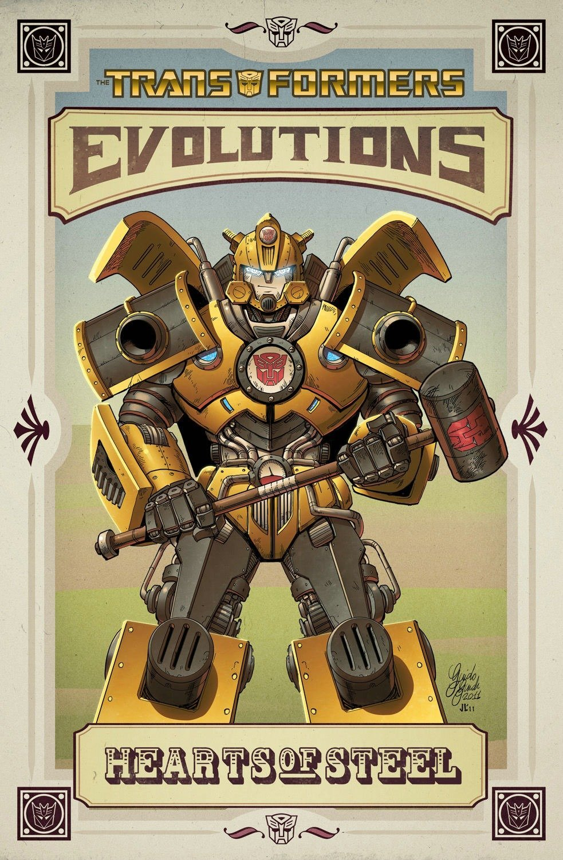 Read Online Transformers: Evolutions - Hearts of Steel pdf