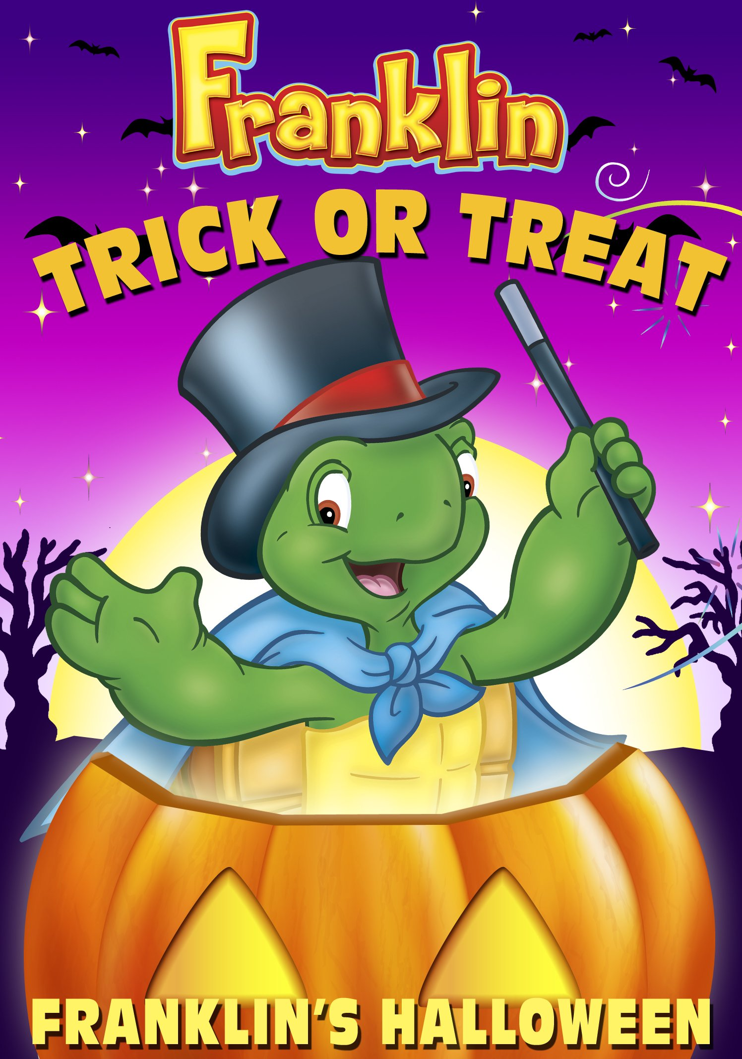 DVD : Franklin-Trick or Treat-Franklin's Halloween (Full Frame)