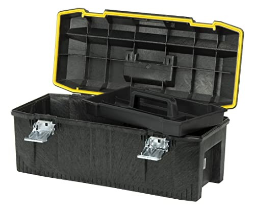 Stanley 028001L 28-Inch tool box is the perfect all-rounder choice.