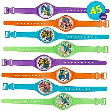 THE TWIDDLERS 45 Juguetes Reloj Pulseras Rompecabezas Laberinto Relojes para Niños - Rellenos De Juguete Detalles Regalos Cumpleaños Ninos Infantiles ...