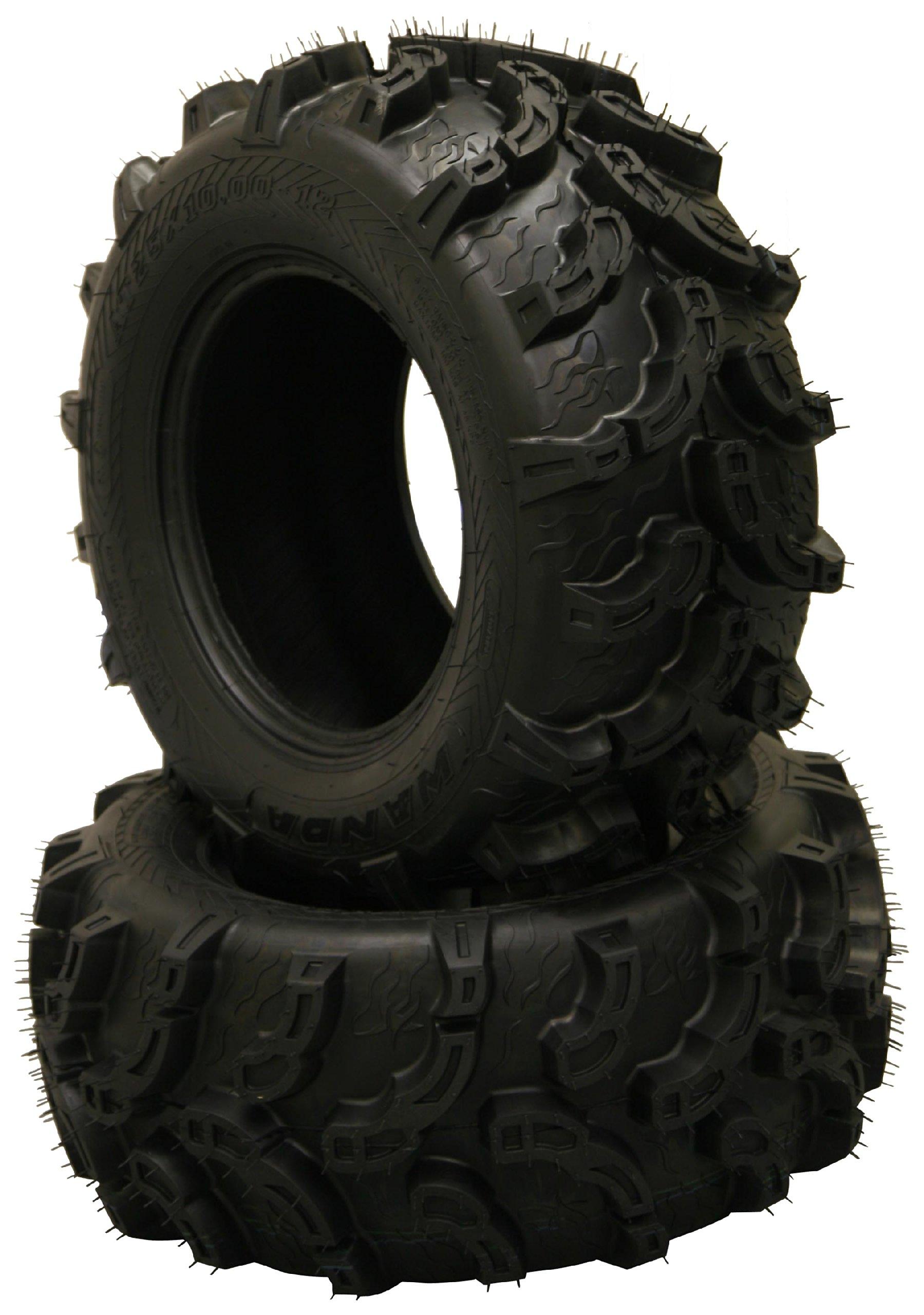 Set of 4 New Premium WANDA ATV/UTV Tires 27x9-12 Front & 27x12-12 Rear /6PR P375 10219/10220 by Wanda (Image #4)