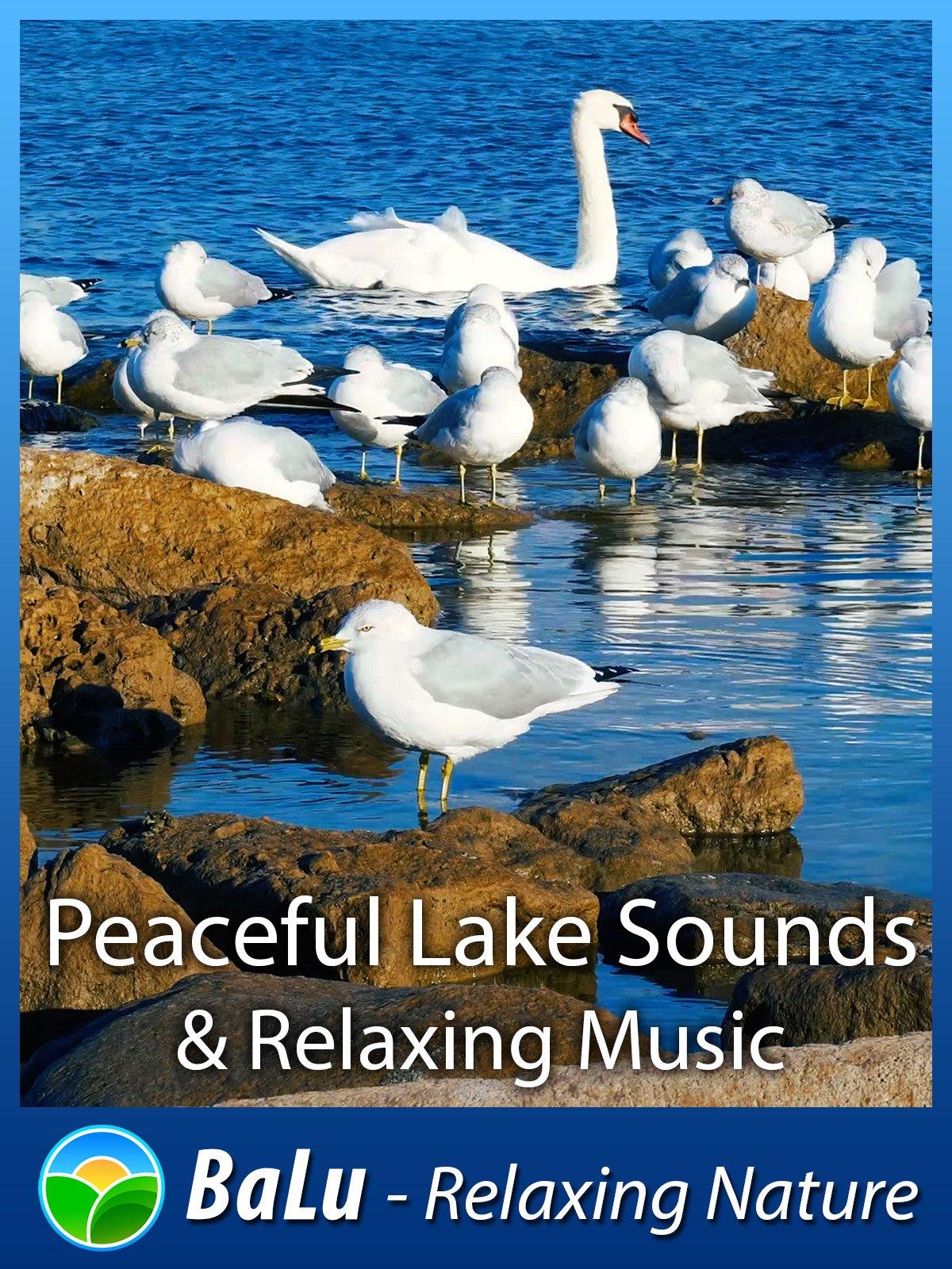 Amazon com: Watch Peaceful Lake Sounds & Relaxing Music