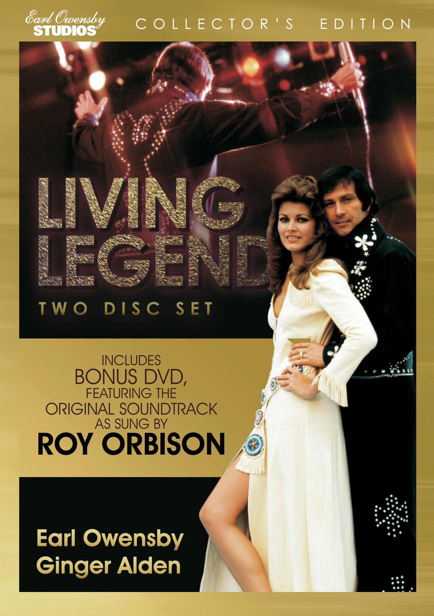 DVD : Earl Owensby - Living Legend: A Rock Legend at a Turning Point (2 Disc)