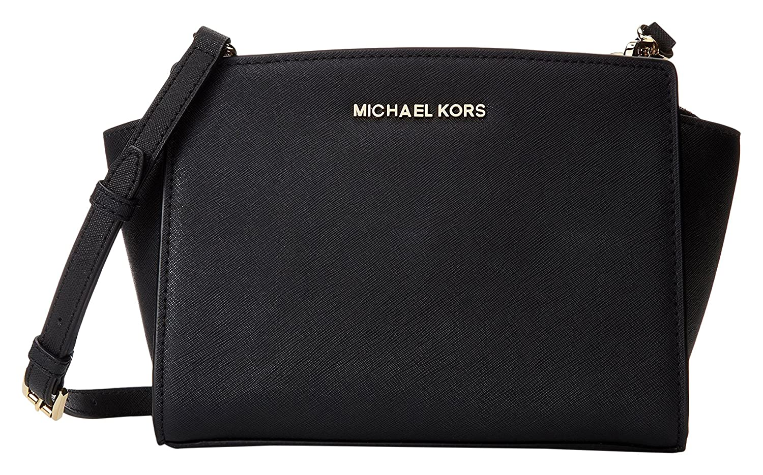906ecf2c29992 ... cheap michael kors womens selma medium messenger bag black black 001  one size amazon shoes bags