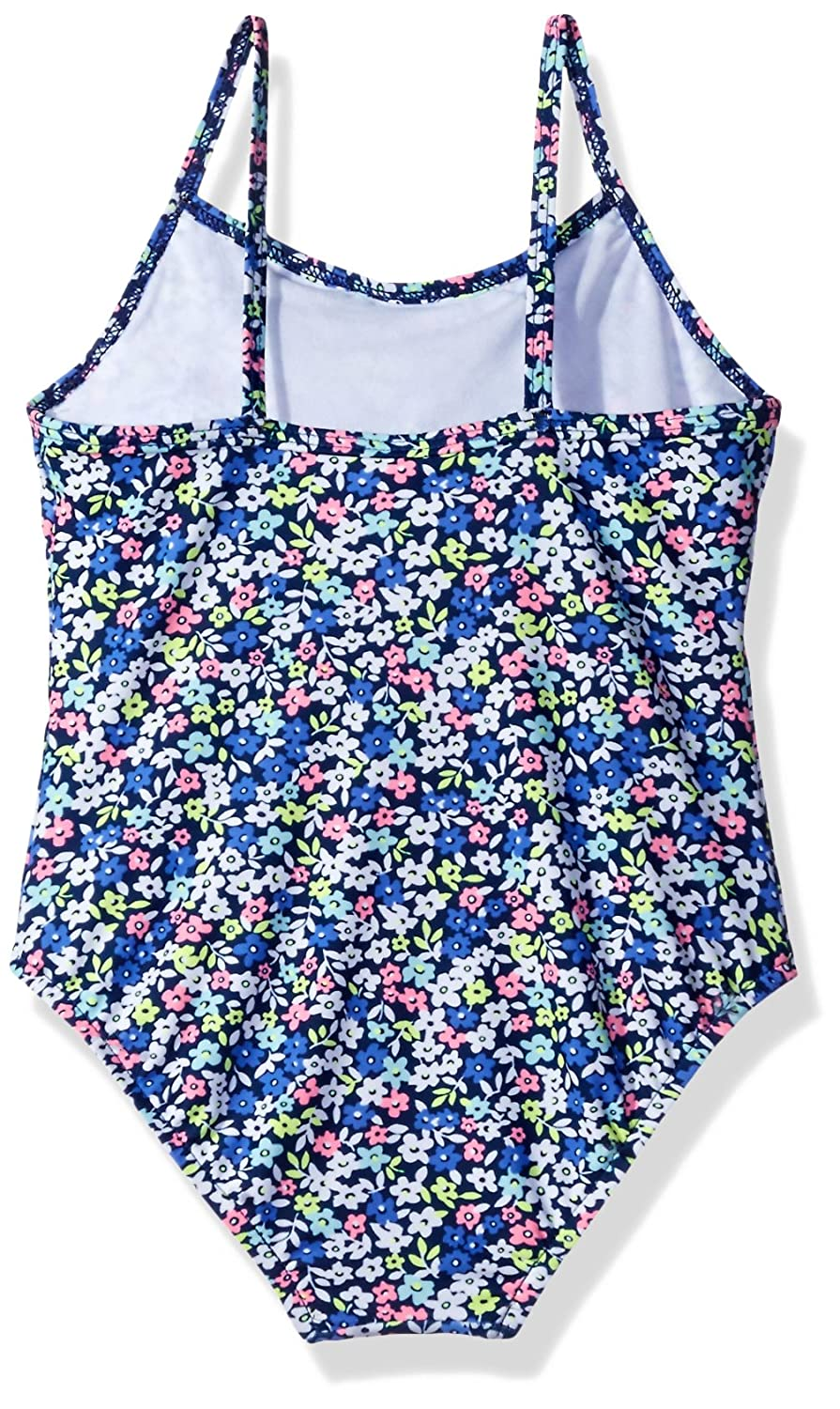 Carters Girls Ditsy Floral One Piece Swimsuit