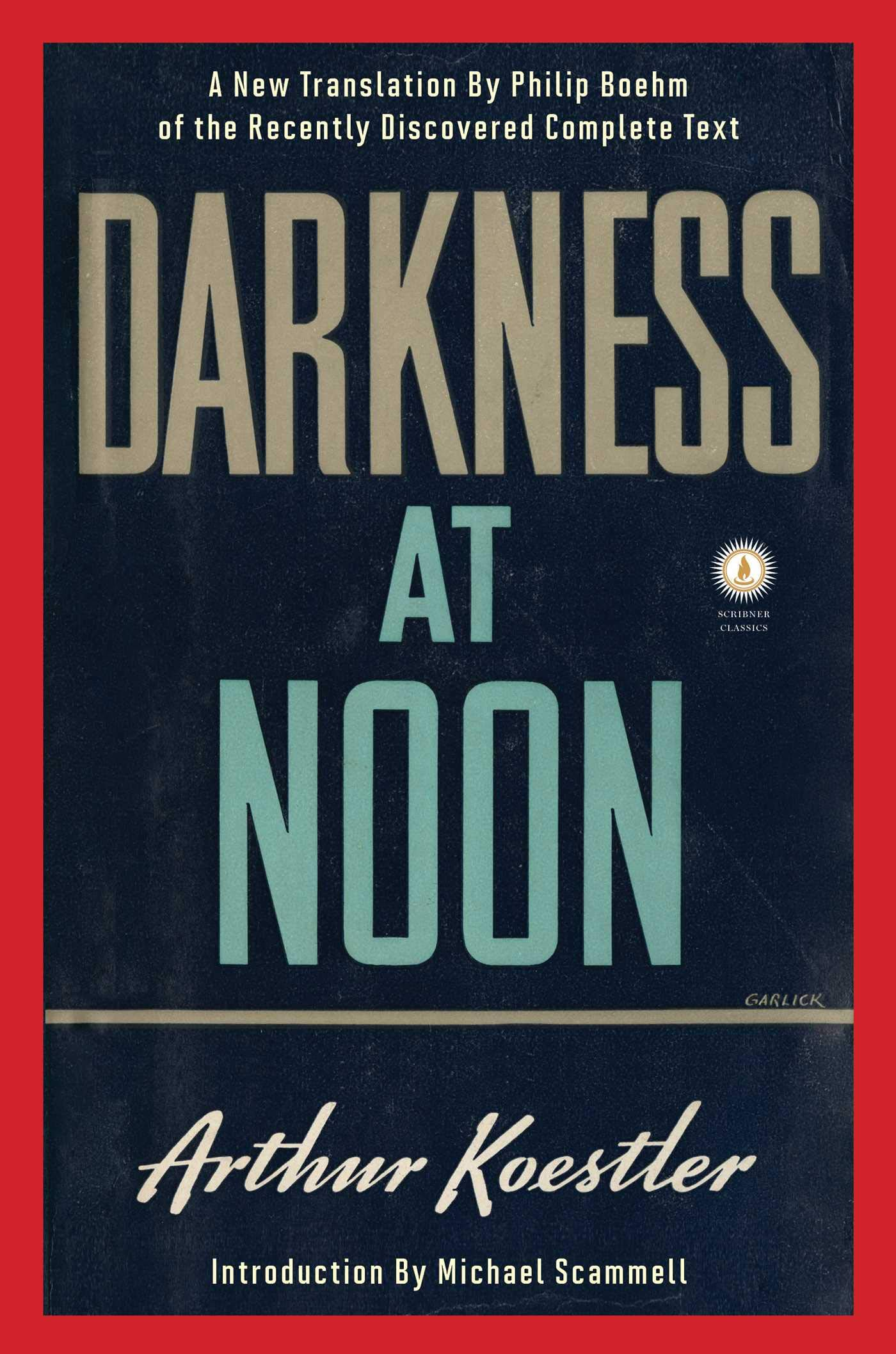 darkness at noon audiobook