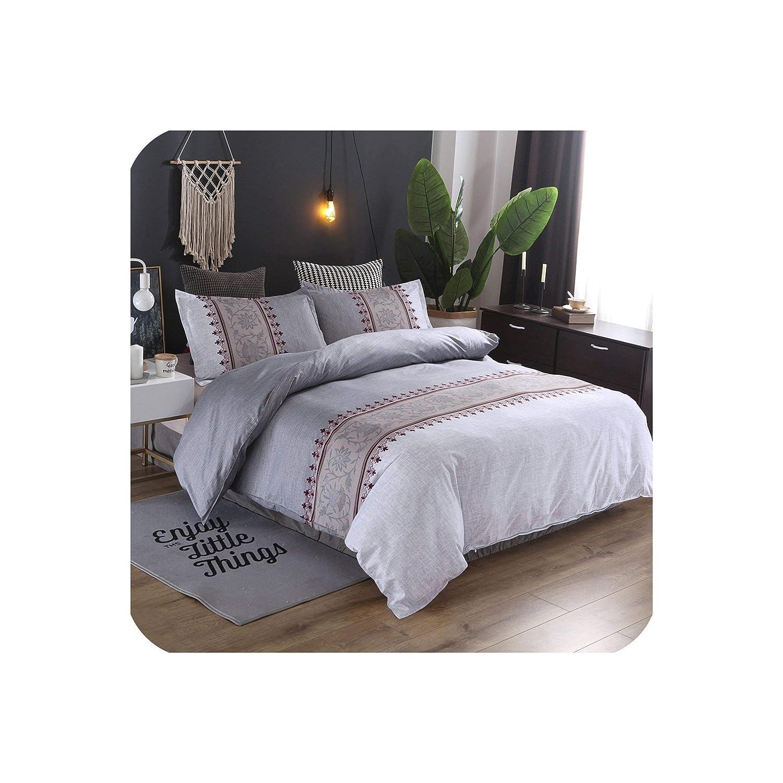 Amazon.com: Minimalist Bed Duvet Cover Set Luxury European ...