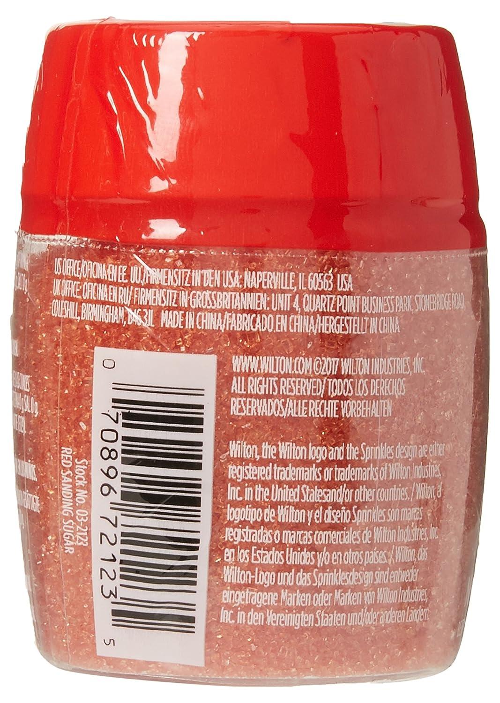 Wilton Red Sugar Sprinkles, Extra Fine, 70g (2 5oz)