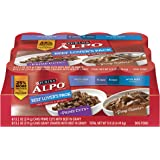 Purina ALPO Prime Cuts/Gravy Cravers Beef Lover's Pack Dog Food - (1) 9.9 lb. Tray